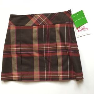 NWT Lilly Pulitzer plaid skirt